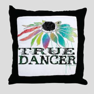 True Dancer Throw Pillow