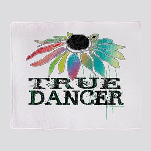True Dancer Throw Blanket
