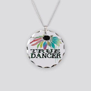 True Dancer Necklace Circle Charm