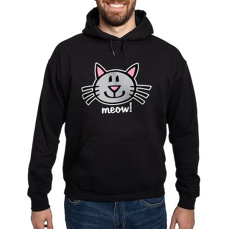 Lil Grey Cat Hoodie (dark)