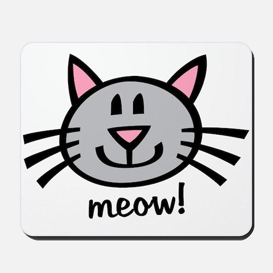 Lil Grey Cat Mousepad