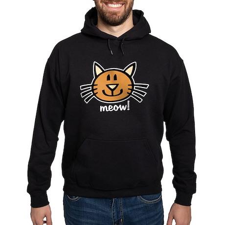 Lil Tabby Cat Hoodie (dark)