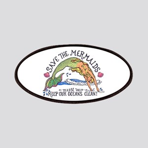 Save the Mermaids Patches