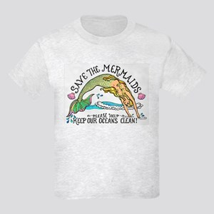 Save the Mermaids Kids Light T-Shirt