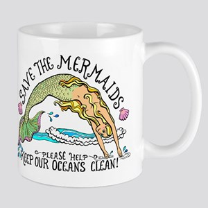 Save the Mermaids Mug