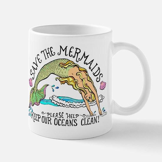 Save the Mermaids Mug