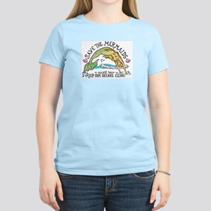 Save the Mermaids Women's Light T-Shirt