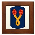 196th Light Infantry Bde Framed Tile