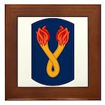 196th Light Infantry Bde Framed Tile