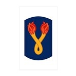 196th Light Infantry Bde Sticker (Rectangle 50 pk)