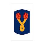 196th Light Infantry Bde Sticker (Rectangle 50 pk)