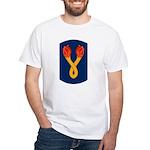 196th Light Infantry Bde White T-Shirt
