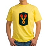 196th Light Infantry Bde Yellow T-Shirt