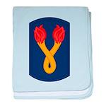196th Light Infantry Bde baby blanket