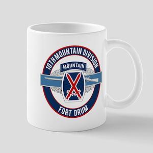 10th Mountain with CIB Mug