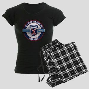 10th Mountain with CIB Women's Dark Pajamas