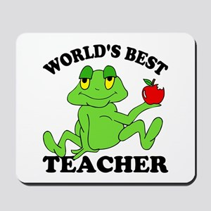 Frog Teacher Mousepad