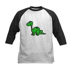 Dinosaur Kids Baseball Jersey