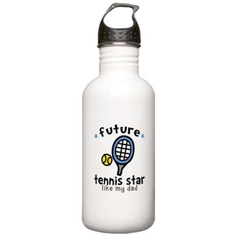 Tennis Star - Dad Stainless Water Bottle 1.0L