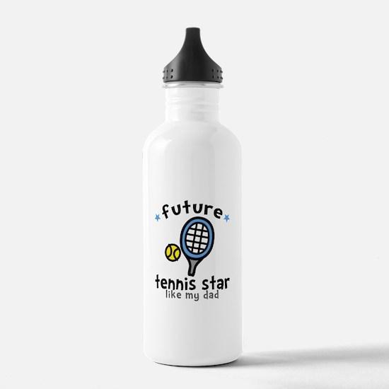 Tennis Star - Dad Water Bottle