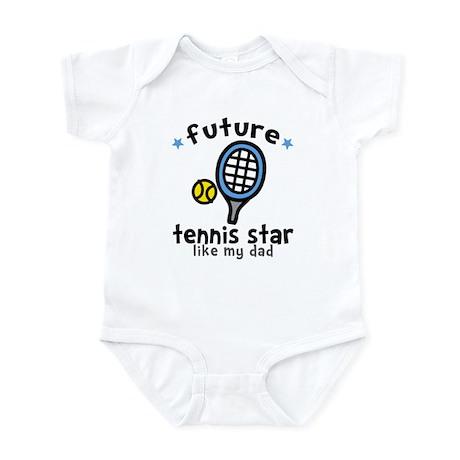 Tennis Star - Dad Infant Bodysuit