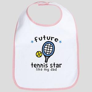 Tennis Star - Dad Bib
