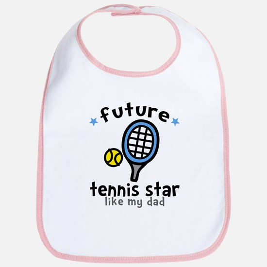 Tennis Star - Dad Bib