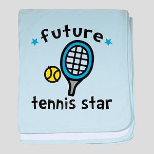 Future Tennis Star baby blanket