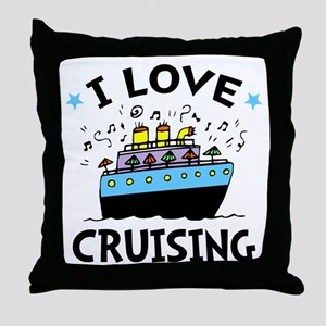 Little Cruiser Throw Pillow