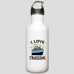 Little Cruiser Stainless Water Bottle 1.0L