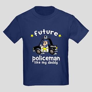 Policeman Kids Dark T-Shirt