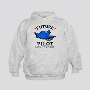 Pilot Like Daddy Kids Hoodie