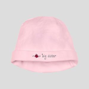 Little/Big Sister Flower baby hat