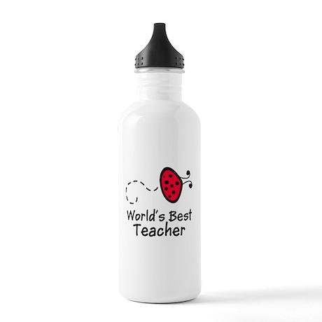 Ladybug Teacher Stainless Water Bottle 1.0L