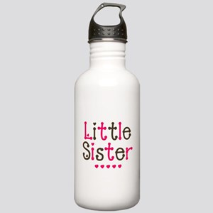Pink Lil/Big Sis Stainless Water Bottle 1.0L