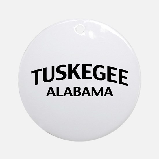 Tuskegee Alabama Ornament (Round)