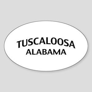 Tuscaloosa Alabama Sticker (Oval)
