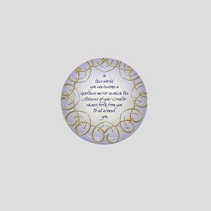 ACIM-Spotless Mirror Mini Button