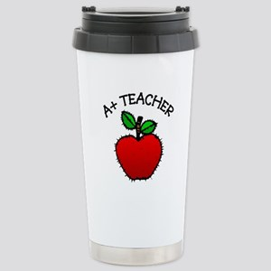 A+ Teacher Stainless Steel Travel Mug