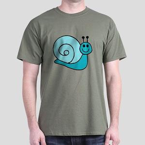 Blue Snail Dark T-Shirt