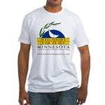 Minnesota Neighbors for Peace Fitted T-Shirt