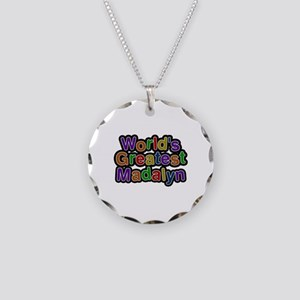 World's Greatest Madalyn Necklace Circle Charm