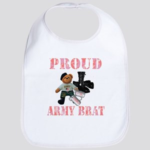 Army Brat (Girl Bib