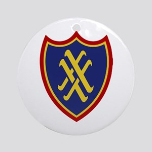 XX Corps Ornament (Round)