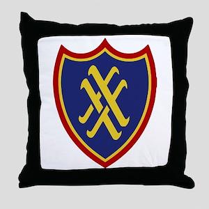 XX Corps Throw Pillow