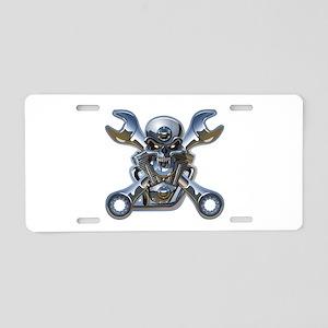 Motorhead Aluminum License Plate