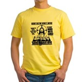 Nuns with guns Mens Classic Yellow T-Shirts