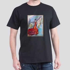 Falmenco dancer, bright Dark T-Shirt