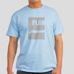 Planking (plan) Light T-Shirt