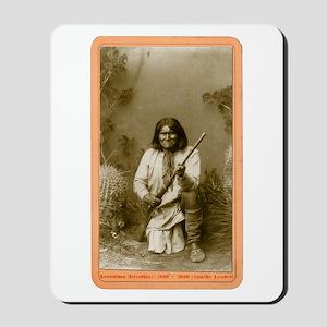 Geronimo - Apache Leader Mousepad